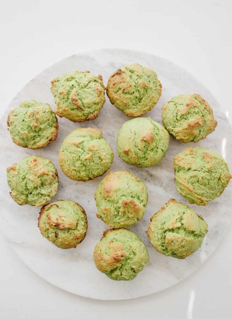 St. Patrick's Day Muffins | Matcha Muffins Recipe