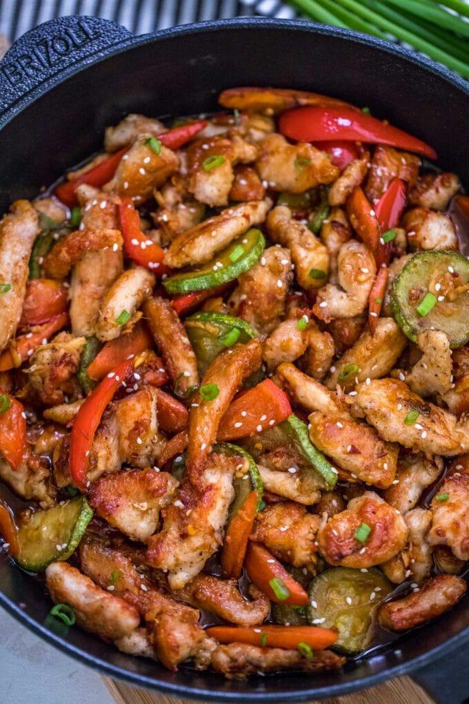 Best Hunan Spicy Chicken Recipe