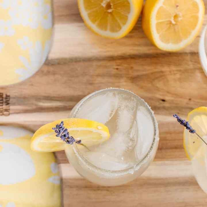 Spiked Lavender Lemonade Recipe