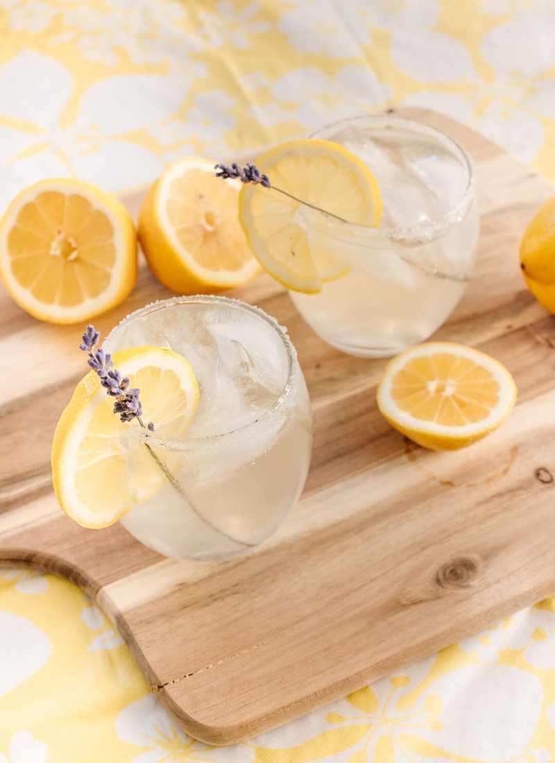 Spiked Lavender Lemonade with SunRype Slim