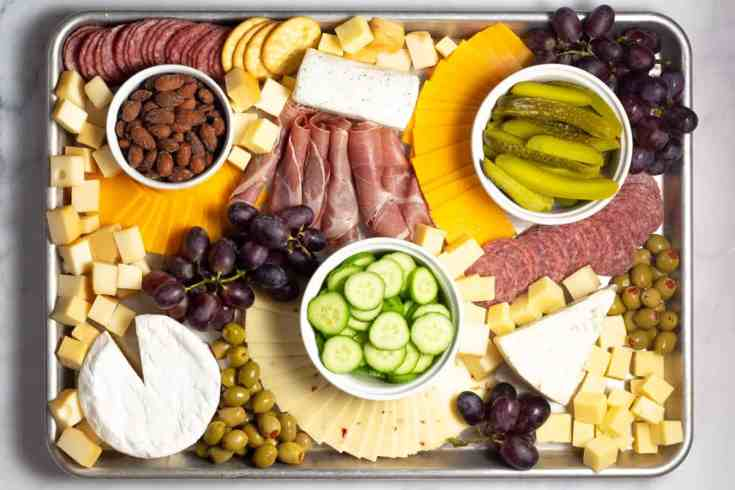 Making a Simple Cheese Board