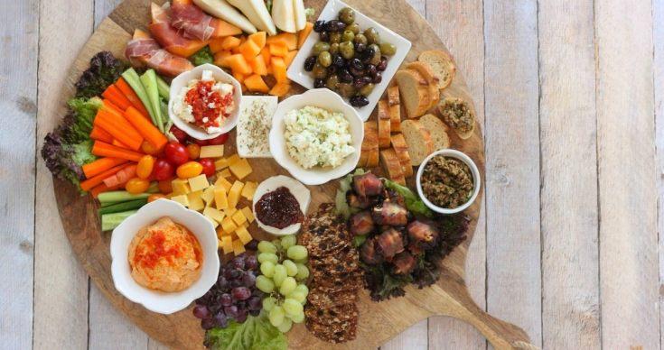 The Ultimate Mediterranean Appetizer Platter