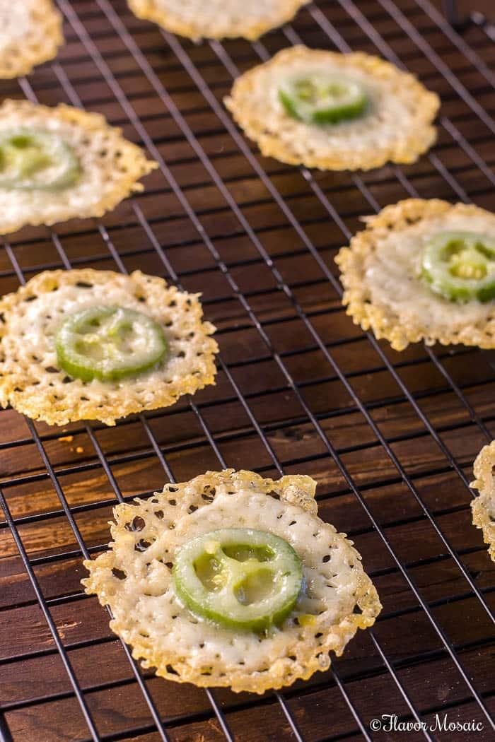 Jalapeno Parmesan Crisps - A Yummy Keto Snack