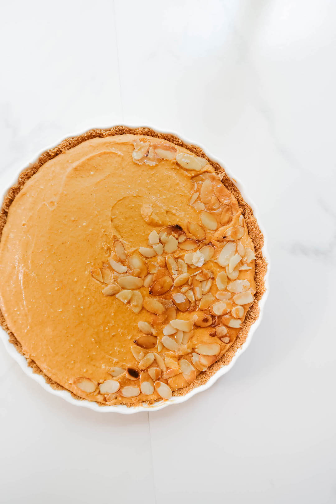 Easy No-Bake Pumpkin Tart Recipe