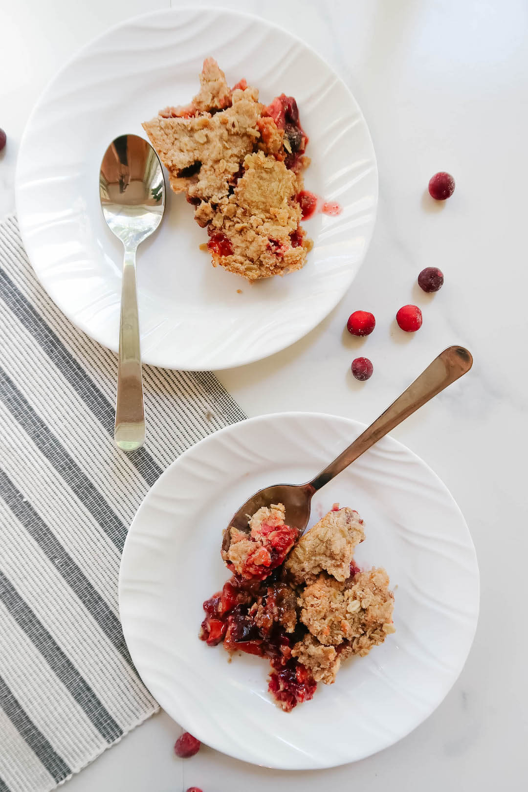 Apple Cranberry Crumble Recipe