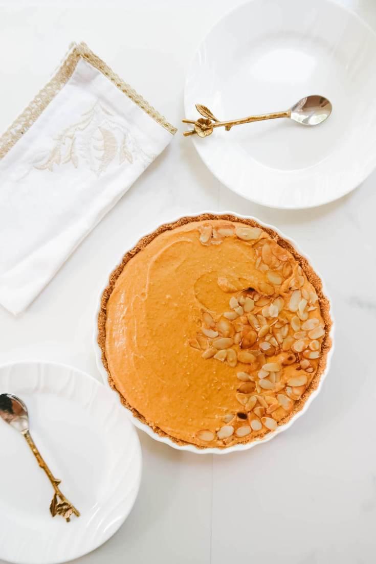 No-Bake Pumpkin Spice Tart Recipe