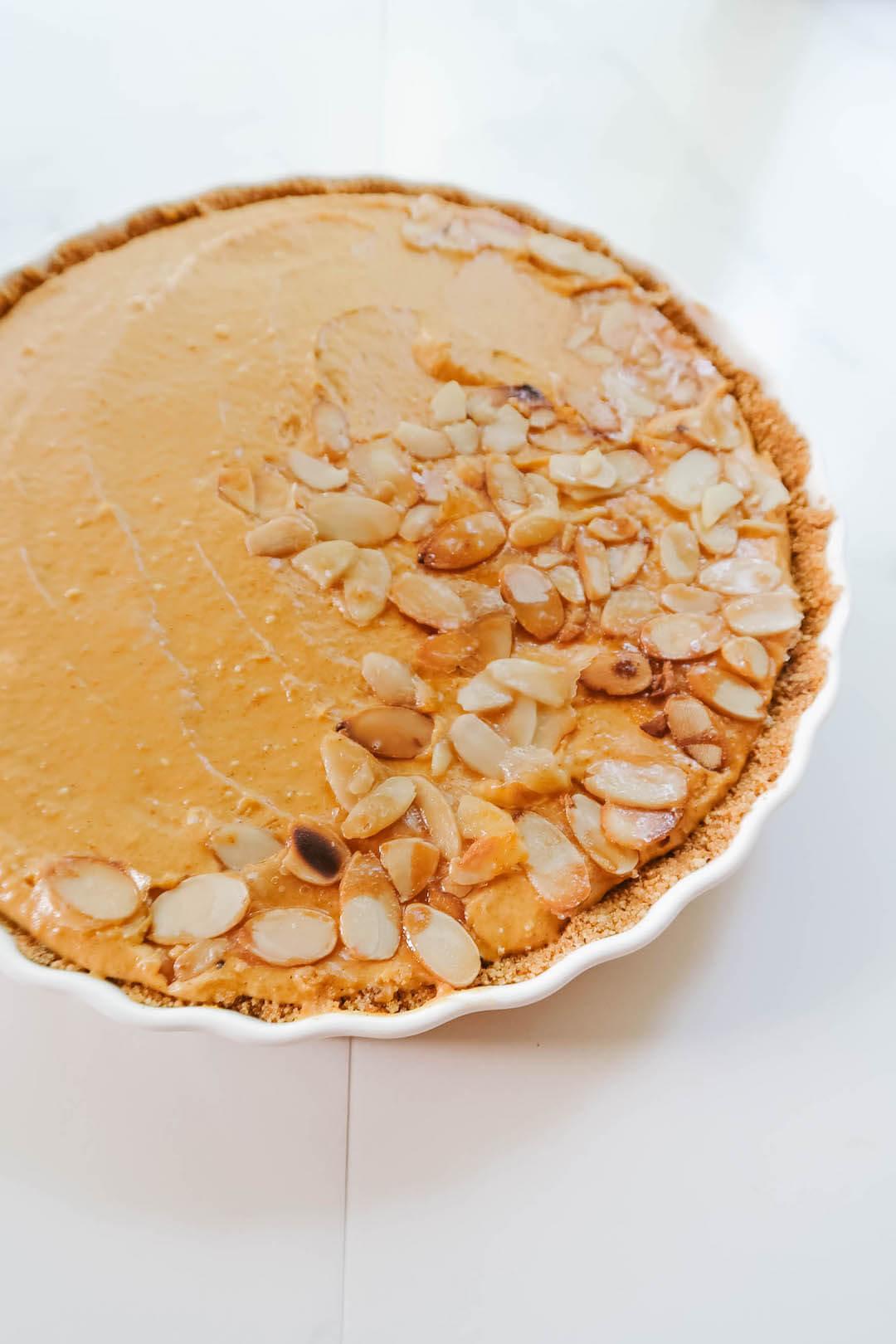No-Bake Pumpkin Tart Recipe