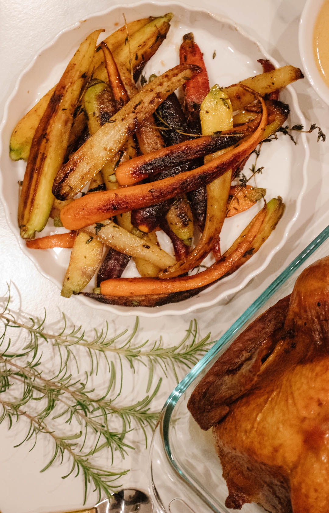 Sweet and Smoky Paprika Herb Roasted Carrots