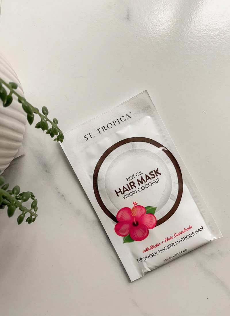 ST TROPICA Hot Oil Hair Mask Review