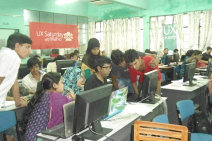 Hands-on UX Workshop at Dhaka University of Engineering & Technology (DUET)