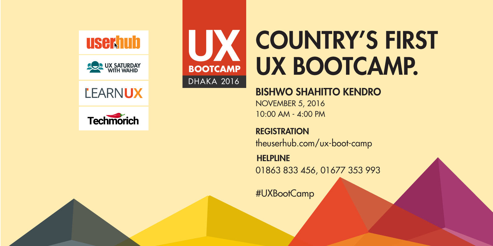 UX Boot Camp Dhaka 2016
