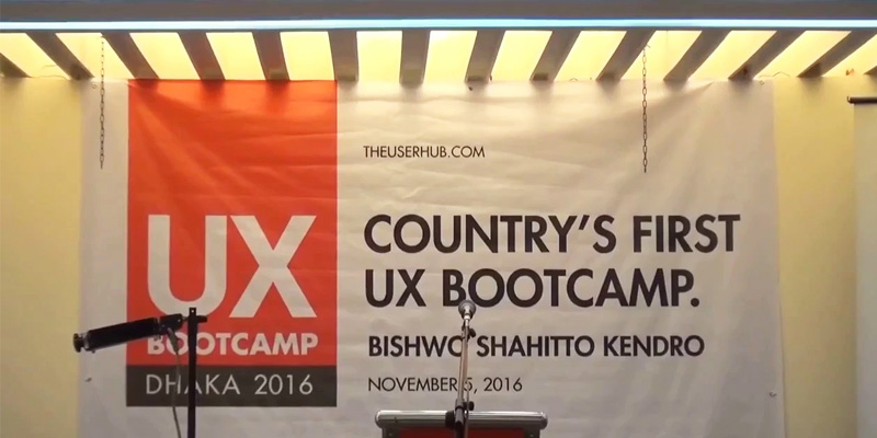 Country's first UX Boot Camp organized by Userhub