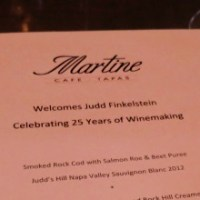 Martine Cafe and Judd's Hill