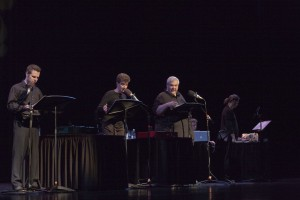 Jay Perry, Teresa Sanderson, and Jason Tatom in 'Fairyana.'