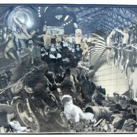 Rare, exceptional exhibit of Ernesto Edwards' collages slated at Ken Sanders Rare Books