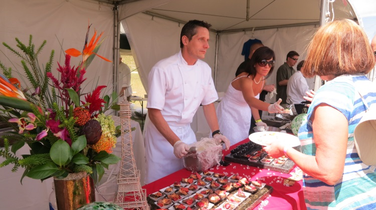 chef franck peissel at taste of wasatch 2013