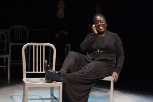 Dee-Dee Darby-Duffin in Plan-B Theatre's production of Carleton Bluford's 'Mama.' Photo  by Rick Pollock.