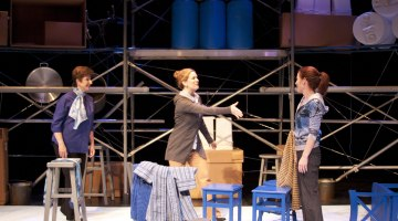 As close to perfection as possible: Plan-B Theatre's '3' makes riveting case against perfection