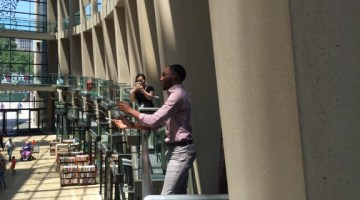 Backstage at The Utah Arts Festival 2016: Some random acts of opera for the City Library urban atrium