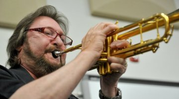 Backstage at The Utah Arts Festival 2017: Jazz commission concert with Salt Lake City Jazz Orchestra to feature Utah composer Alex Heitlinger; standout sessions musicians Andrea Miller, Chuck Findley