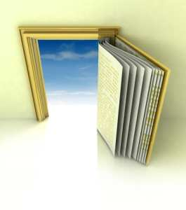 http://www.dreamstime.com/stock-photos-golden-frame-book-door-concept-blue-sky-image29182753