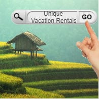Search for Unique Vacation Rentals