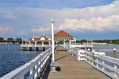 Historic Pier on Anna Maria Island, Florida