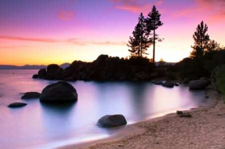 Sand Harbor Beach, Lake Tahoe, California