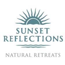 Sunset Reflections by Natural Retreats in Cape San Blas, Florida