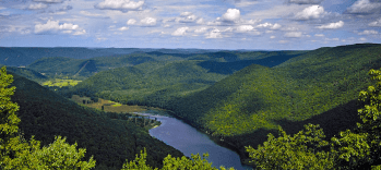vacation rental and resorts in the pocono mountains in pennsyvania