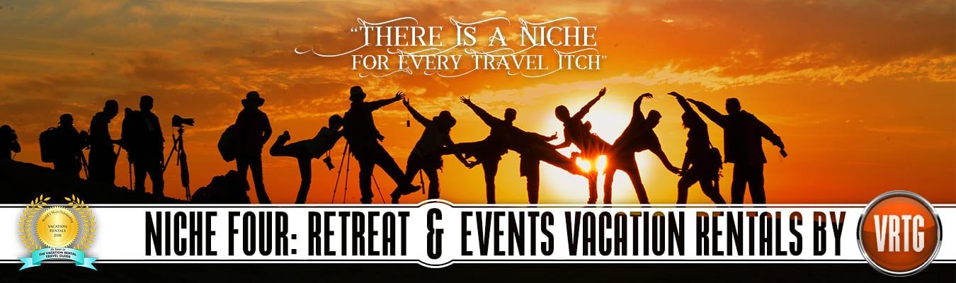 Retreat & Events Vacation Rentals
