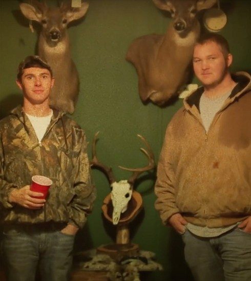Still from the video for 'Country Folk' by Bubba Sparxxx