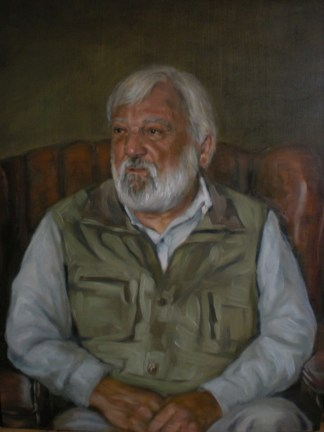 Portrait from life in Oils by Annabelle Valentine