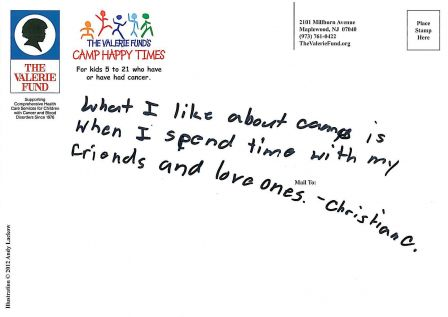The Valerie Fund's Camp Happy Times