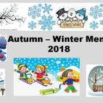 Autumn - Winter Menu 2018
