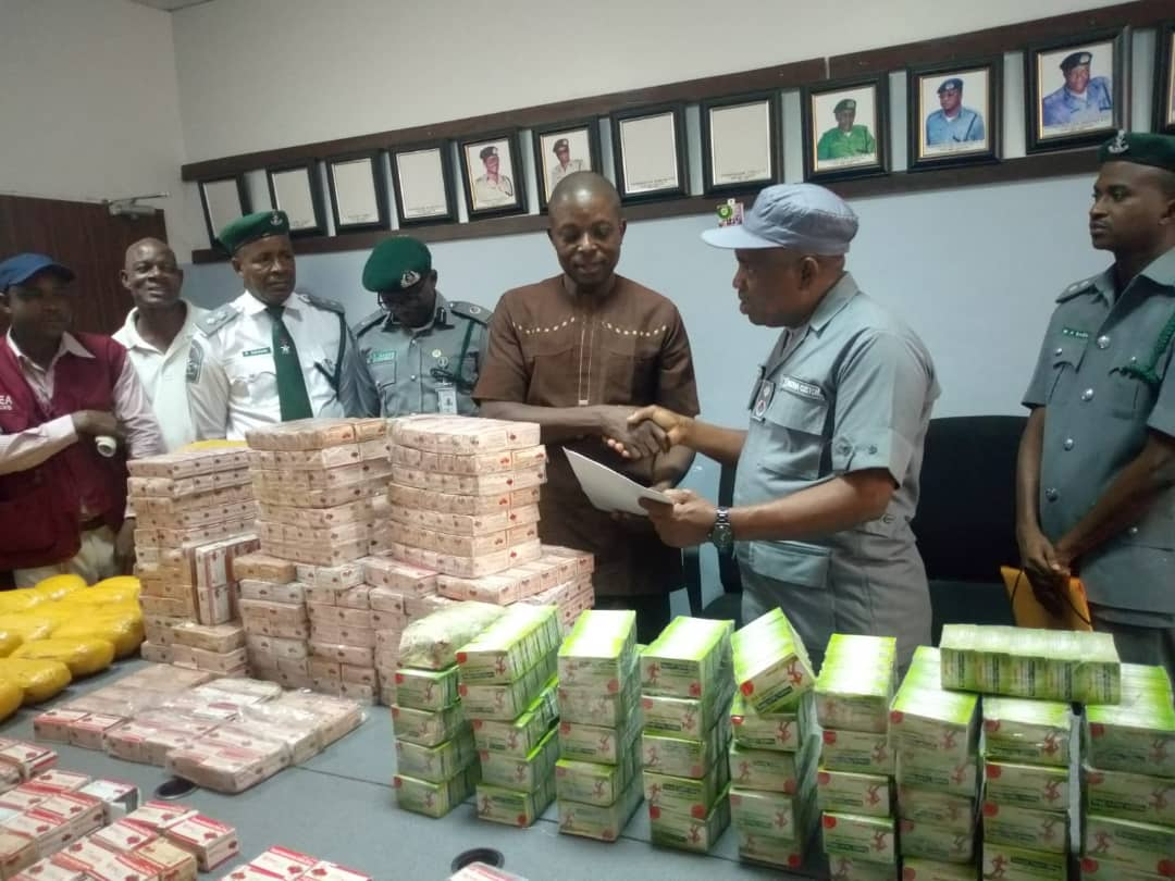 Customs: Intercepted Tramadol Transferred To NDLEA As CGC Strike Force Also Intercepts Tramadol