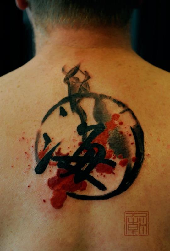 JAMIE KAM tattoo artist