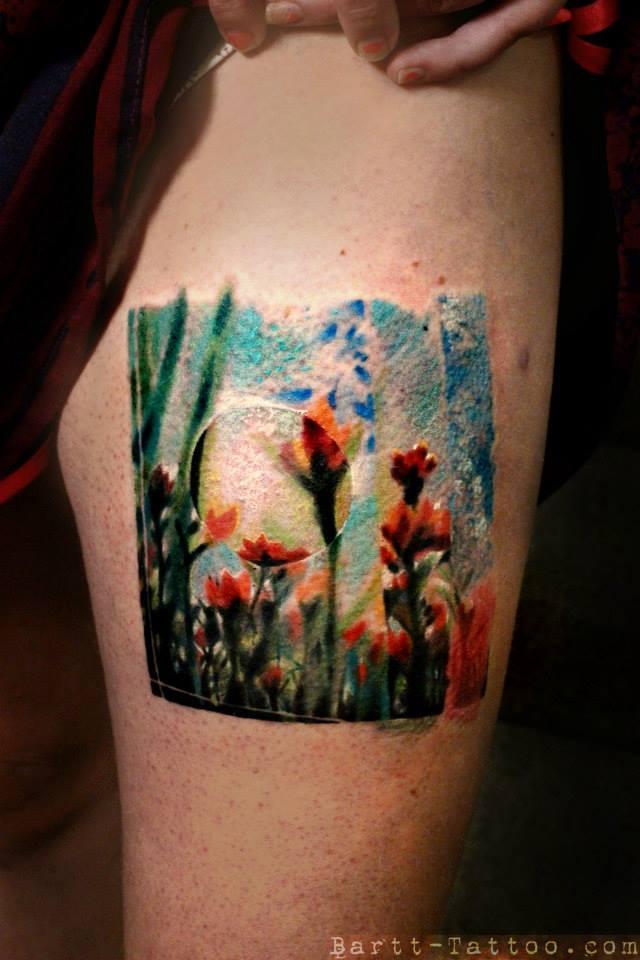 The Colors of Bartt  Tattoo Artist