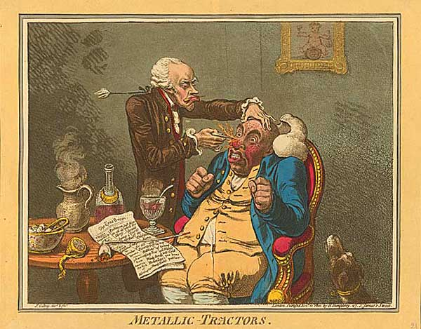 James Gillray liked red noses