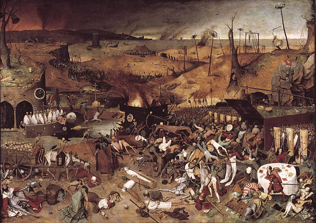 'The Triumph of Death' by Pieter Breghel the Elder
