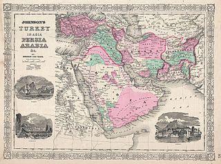 320px-1866_Johnson_Map_of_Arabia,_Persia,_Turkey_and_Afghanistan_(Iraq)_-_Geographicus_-_Arabia-johnson-1866