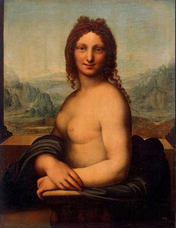 NOT by Leonardo....Donna Nuda