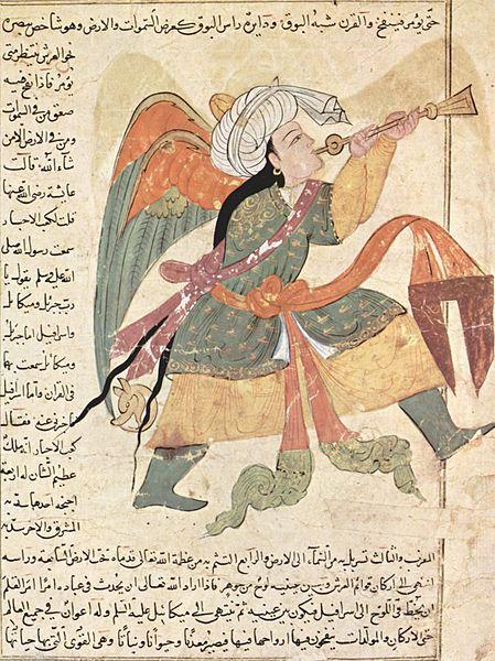 The Angel Israfel (Irakischer Maler, 1280)