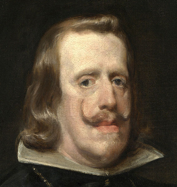 Velazquez knew better later...best to paint Philip from afar...