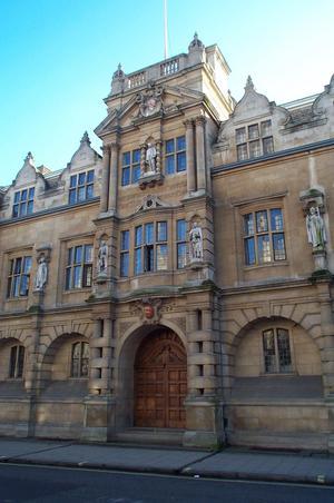 Rhodes on the high niche, Oriel College