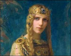 Yseult by Gaston Bussiere