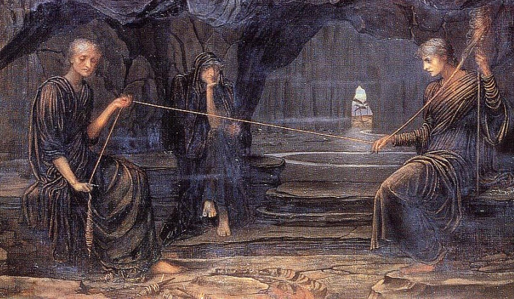 """A Golden Thread"" (by John Strudwick)"