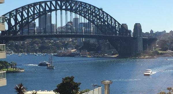 Our 'harbour glimpse'