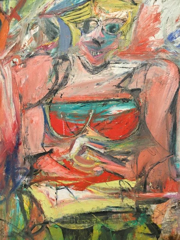 """""""Woman V"""" by Willem De Kooning (1952-3)"""