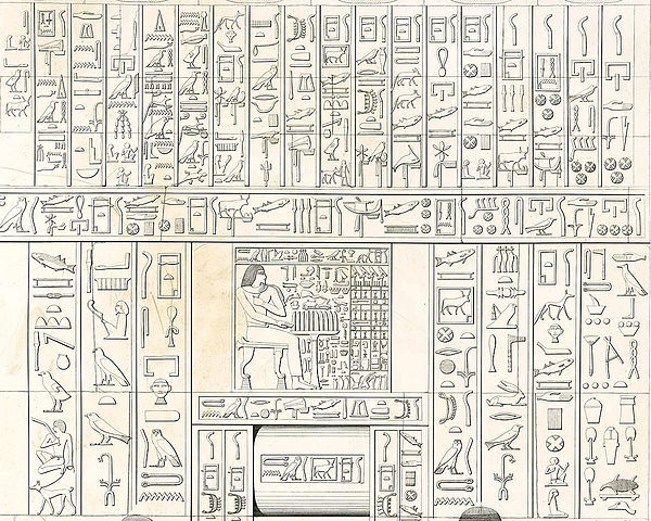 Karl Richard Lepsius and others made painstaking reproductions of hieroglyphics